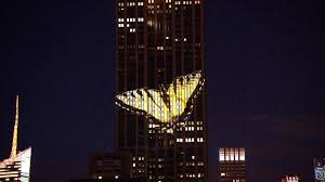 Empire State Building Illuminated With of Endangered