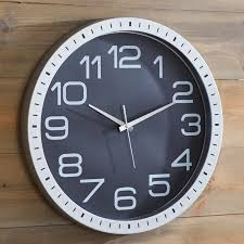 Wayfair Decorative Wall Clocks by Large Blue Wall Clock For Inspiration U2013 Wall Clocks