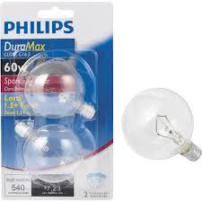 philips duramax candelabra g16 5 globe light bulb ebay