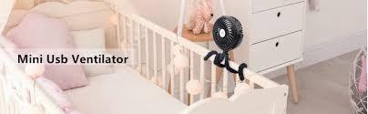 mini usb ventilator leise usb lüfter clip fan