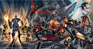 Superhero Comic Wall Decor by Free Shipping 24x45 Inch Avengers Superhero Comics Poster Hd Wall