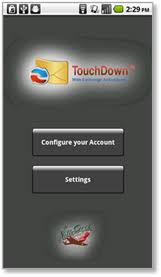 NotifyLink ActiveSync Solution for Android with TouchDown