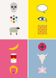 These Colourful And Minimal Posters