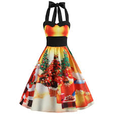 Autumn Winter Dress 2018 Halloween Costume Christmas Dress Fashion