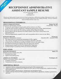 Office Assistant Job Description Resume Beautiful Front Desk Receptionist New Template