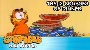 Garfield Halloween Special by The 12 Courses Of Dinner Garfield U0026 Friends Youtube