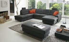 kraft kollektion wohnlandschaft steel marc grau polstermöbel sofas wohnlandschaften möbel kraft