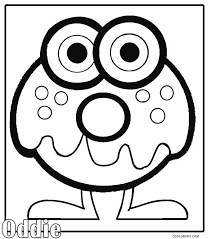 Printable Moshi Monsters Coloring Pages For Kids