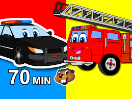 Vehicles Go Vroom | Kids Compilation Cars, Trucks, Trains, Buses ...