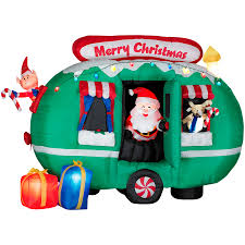 Gemmy 6 Inflatable Santa In RV At Lowescom
