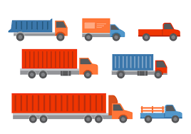 Truck And Trailers Icons - Download Free Vector Art, Stock Graphics ...