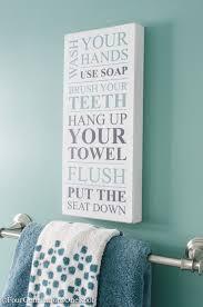 Blue And Brown Bathroom Decor by Best 25 Bathroom Signs Ideas On Pinterest Bathroom Signs Funny