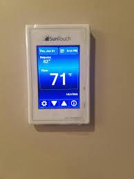 100 suntouch heated floor thermostat best 25 underfloor