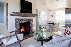 Houzz Living Rooms Traditional by Houzz Fireplace Mantels Dining Room Traditional With Small Table