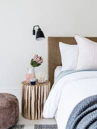 Danish Carpeted Bedroom Photo In Melbourne With White Walls