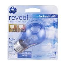 ge reveal appliance light bulb 40 watt 1 0 ct from kroger