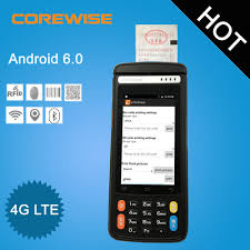 Verifone Vx670 Help Desk Number by Android 6 0 Handheld Terminal 4g Lte Wifi Thermal Printer Pos
