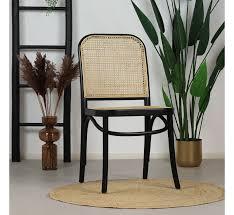 esszimmerstuhl retro bambus beige schwarz zahlung auf