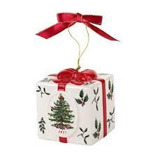 Spode Christmas Tree Ornament Annual 2017 Holiday Box