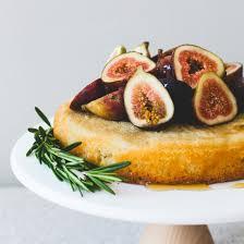 Honey Fig Almond Cake