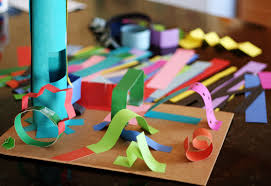 Creating 3 D Paper Sculptures Kids