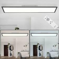 details zu led decken aufbau panel leuchte dimmbar fernbedienung tageslicht küchen le