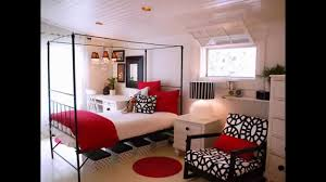 Red And Black Small Living Room Ideas by Awesome Red Black And White Bedroom Design Ideas Youtube