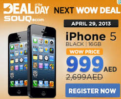 Short lived Souq iPhone 5 for Dh999 deal frustrates ers