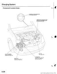 Malfunction Indicator Lamp Honda Odyssey by Charging Honda Civic 2002 7 G Workshop Manual