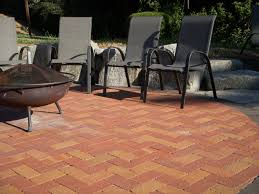 16x16 Red Patio Pavers by Paving Mutual Materials
