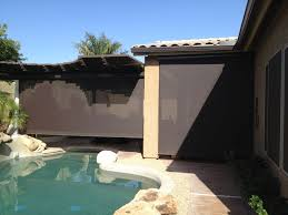 Roll Up Patio Shades by Roll Down Patio Shades Aaa Sun Control