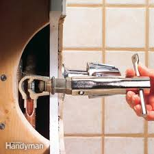 Replacing A Faucet Valve by Bathroom Tub Faucet Repair Bathroom Design Ideas