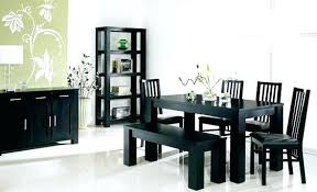 Cool Lovely Black Dining Room Table Set 38 In Home Decoration Ideas With