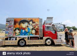 Japanese Decoration Cargo Truck Stock Photo: 118910736 - Alamy