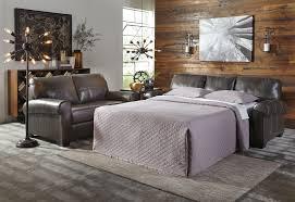 Milari Linen Sofa Sleeper by Canterelli Gunmetal Living Room All American Furniture Buy 4