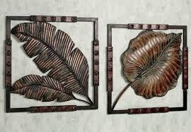 Flagrant More Rustic Metal Wall Art Decor For Sculptures Home In