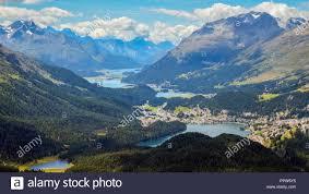 100 Muottas Muragl Panoramic View From Engadin Switzerland In The