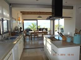 cuisine 13m2 location villa cap benat 10 personnes cap101