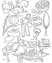ABC Alphabet Words ABC Letters & Words Activity Sheets Letter