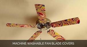 Ceiling Fan Blade Covers Set Of 5 by Decorative Ceiling Fan Blade Covers Online By Fan Blade Designs