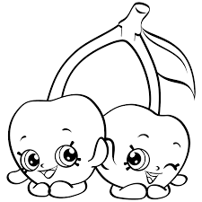 Shopkins Coloring Page Image