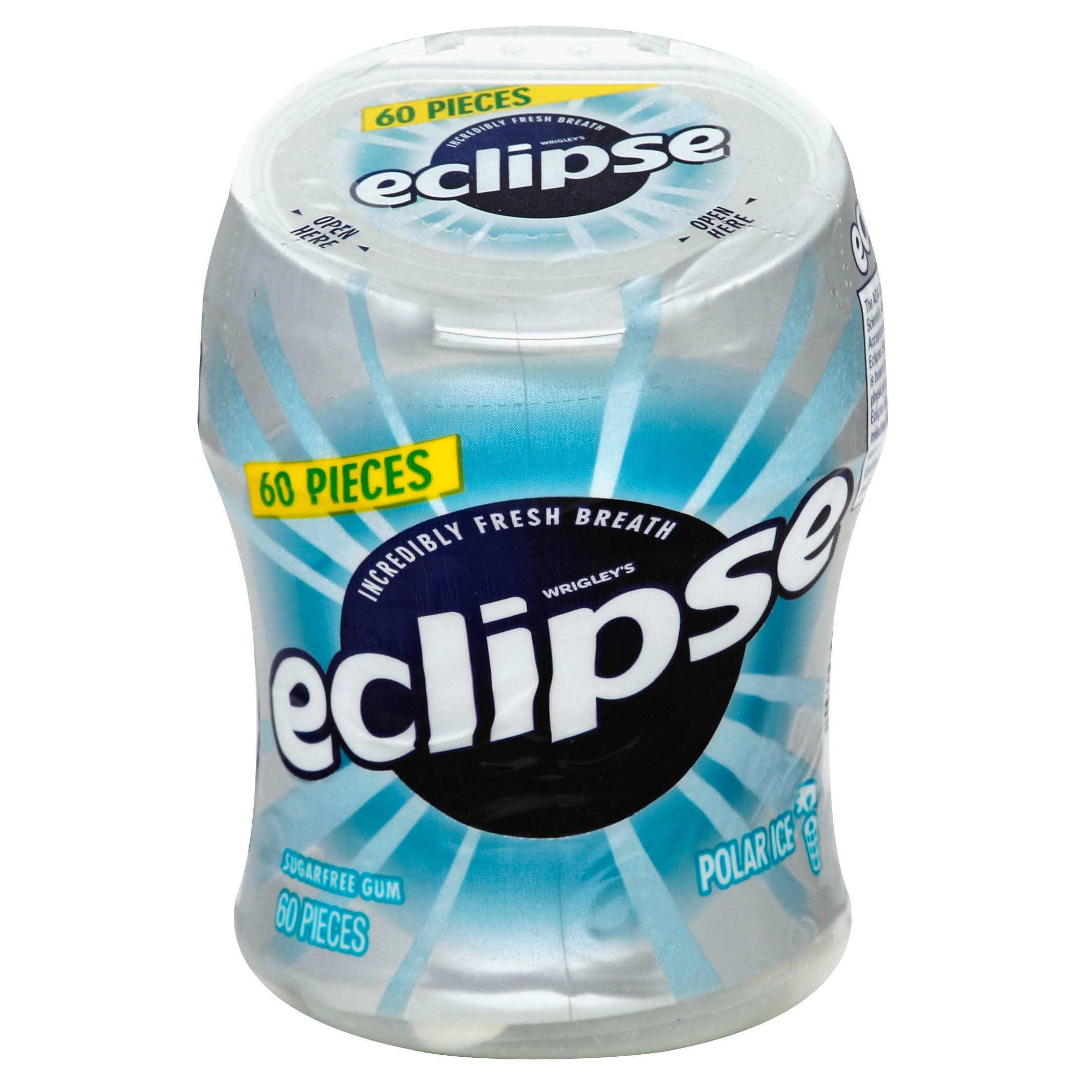 Wrigleys Eclipse Gum - Polar Ice, 83g