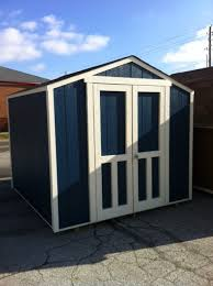 10x12 Barn Shed Kit by Mini Barns Storage Sheds Built On Your Site Five Year Warranty