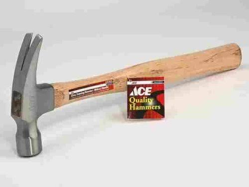 Ace 22 oz. Hickory Framing Hammer
