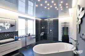 badezimmer modern und zauberhaft beleuchtet plameco decken