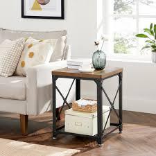 vasagle beistelltisch let048b01 nachttisch sideboard für schlafzimmer wohnzimmer vintage kaufen otto