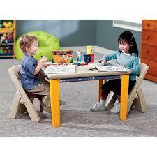Step2 Furniture Toys by Step2 Folding Table U0026 Chair Set Walmart Com