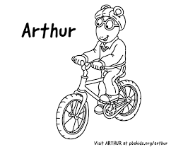 Arthur Riding A Bike
