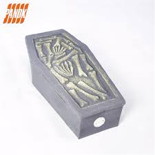 Halloween Coffin Prop by Aliexpress Com Buy Halloween Deluxe Collapsible Coffin Box With