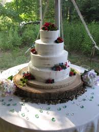 Cakes For All Occasions Rustic Semi Naked Wedding Cake With Fresh Fruit And Sugar